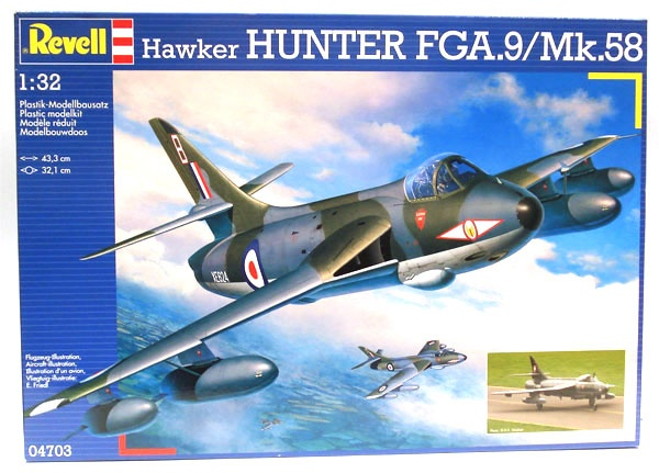 Revell 04703 Hawker Hunter FGA.9 MK.58 1:32
