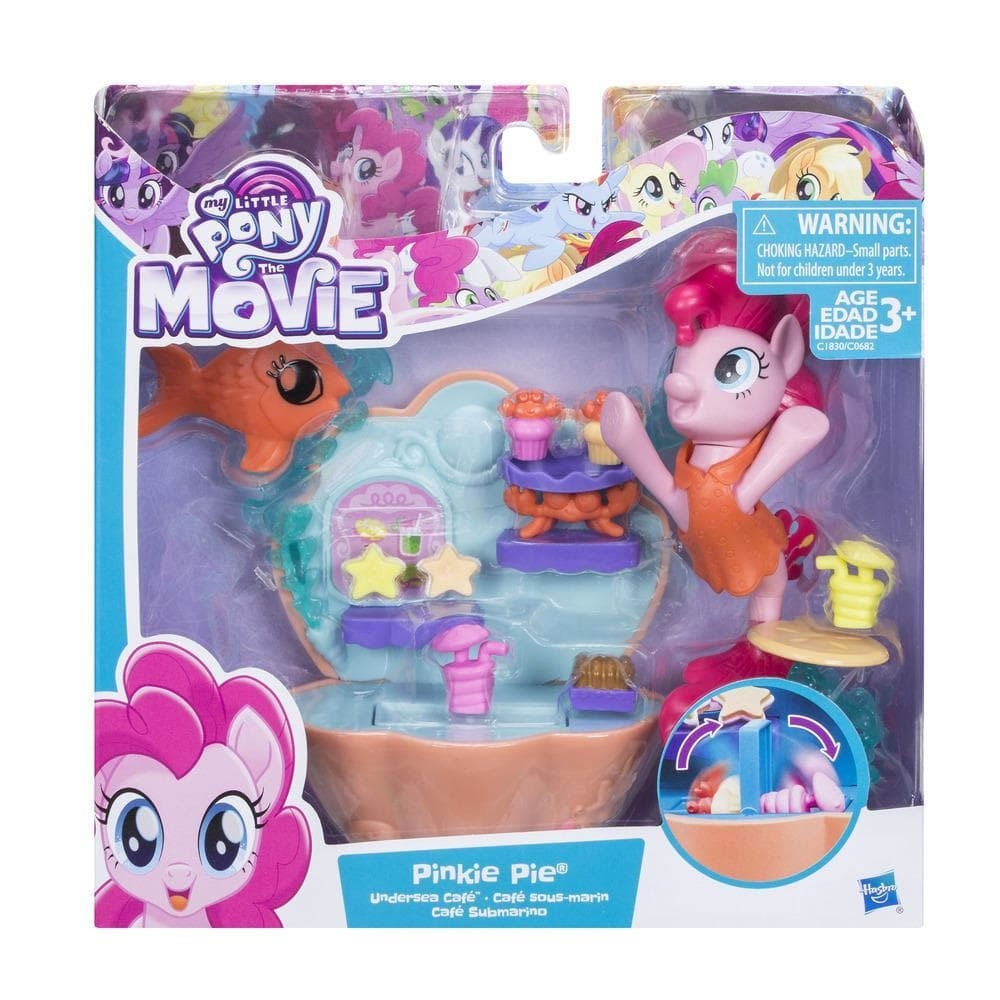 My little Pony Movie Unterwasser Cafè Pinkie Pie