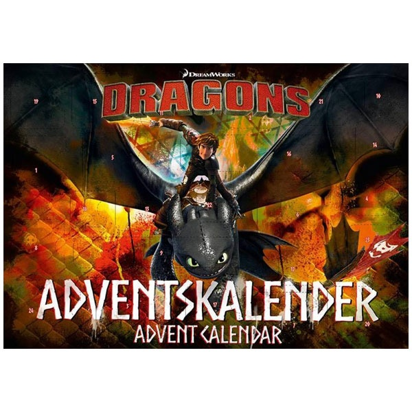 Adventskalender Dragons 2017