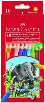 Faber Castell Farbstift JUMBO 10 Stück Packung