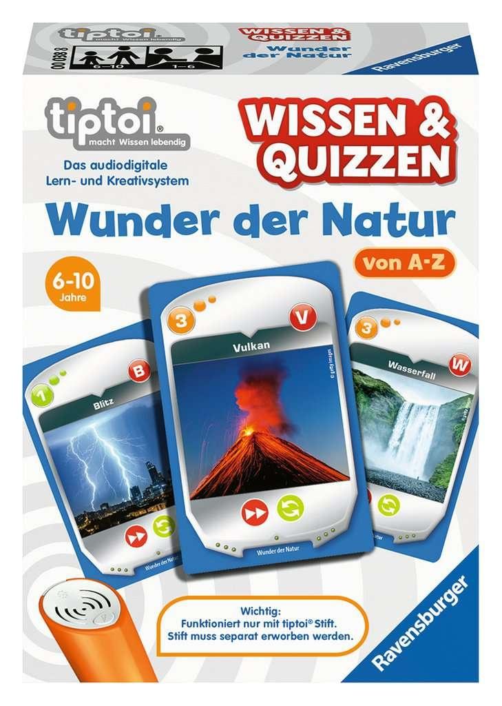 Ravensburger tiptoi  Wissen & Quizzen Wunder der Natur