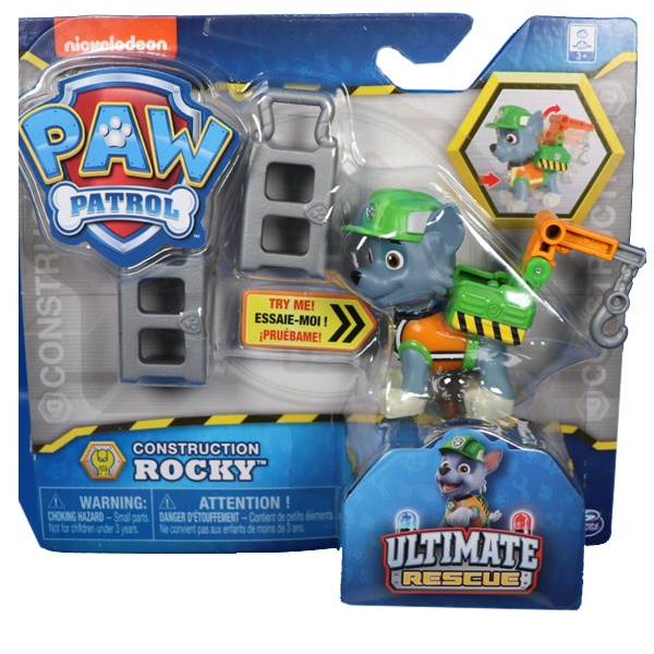 Paw Patrol Construction Rocky Ultimate Rescue