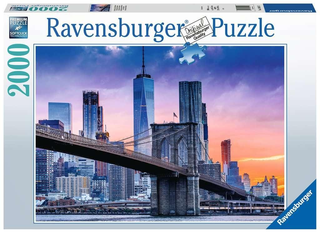 Ravensburger Puzzle Von Brooklyn nach Manhattan 2000 Teile