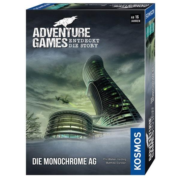 Adventure Game - Die Monochrome AG von Kosmos