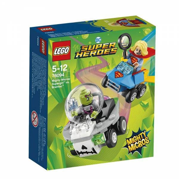 Lego Super Heroes 76094 Mighty Micros Supergirl vs. Brainiac