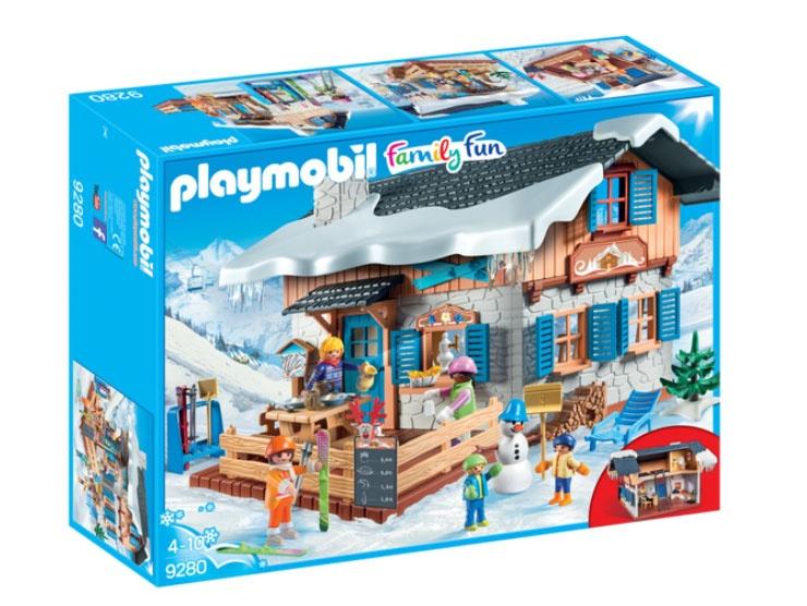 Playmobil 9280 Family Fun Skihütte