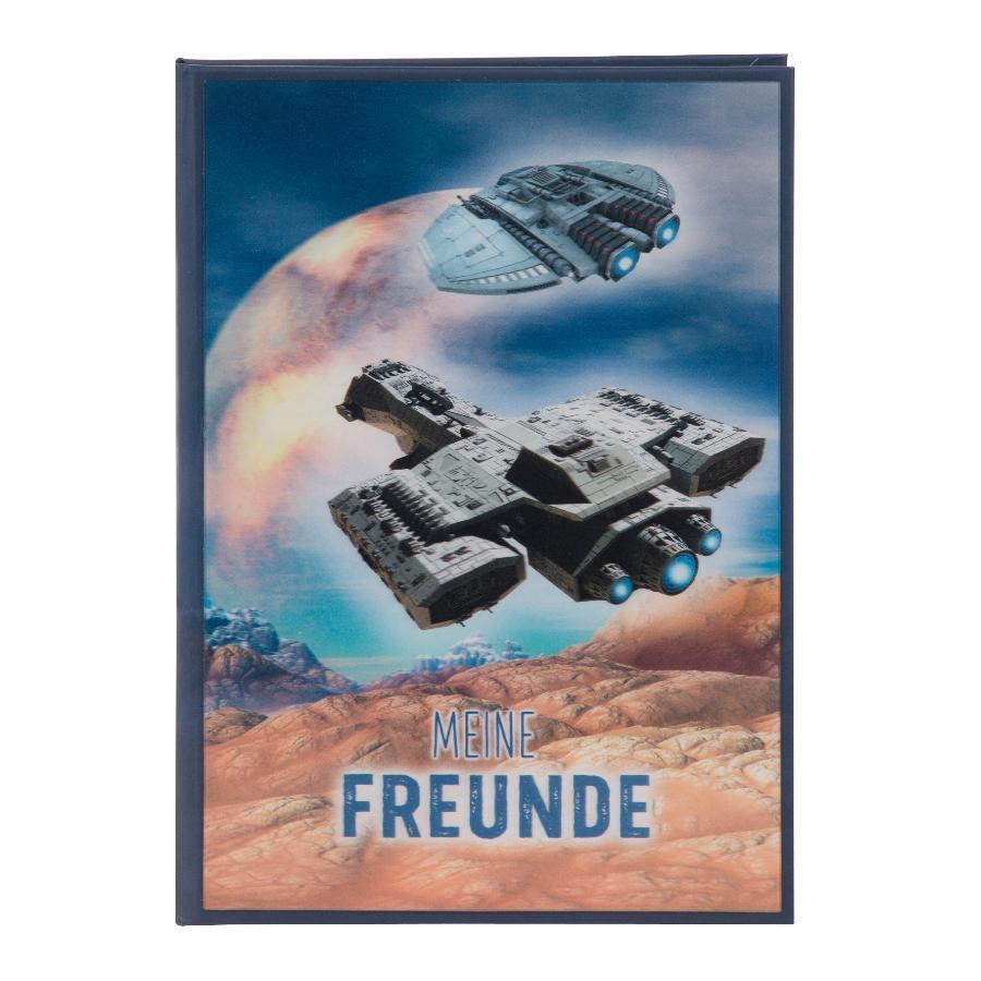 Goldbuch Freundebuch 3D  Mars