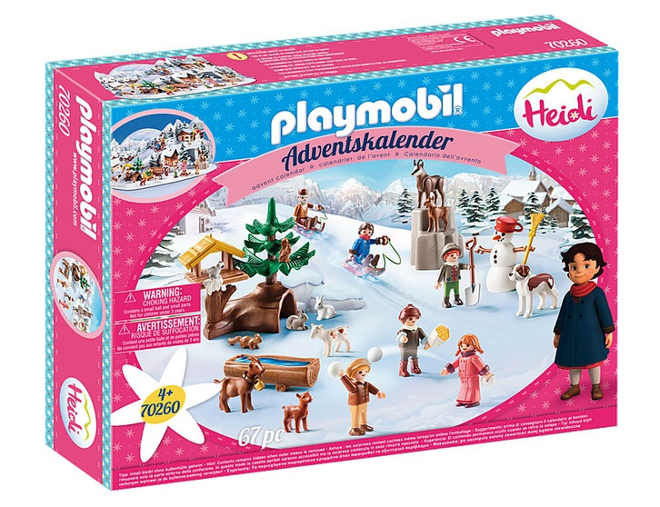 Playmobil 70260 Adventskalender 2020 Heidis Winterwelt