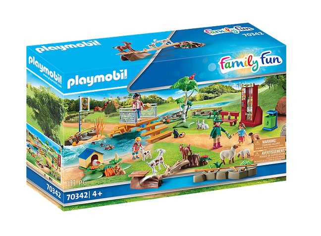 Playmobil 70342 Family Fun Erlebnis-Streichelzoo