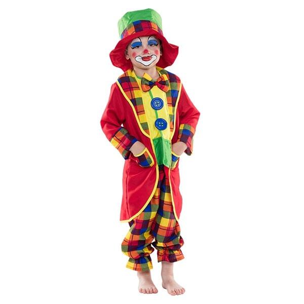 Kostüm Clown Anzug 116