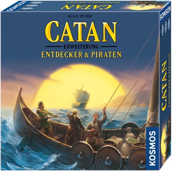 Catan - Erweiterung -  Entdecker und Piraten von Kosmos