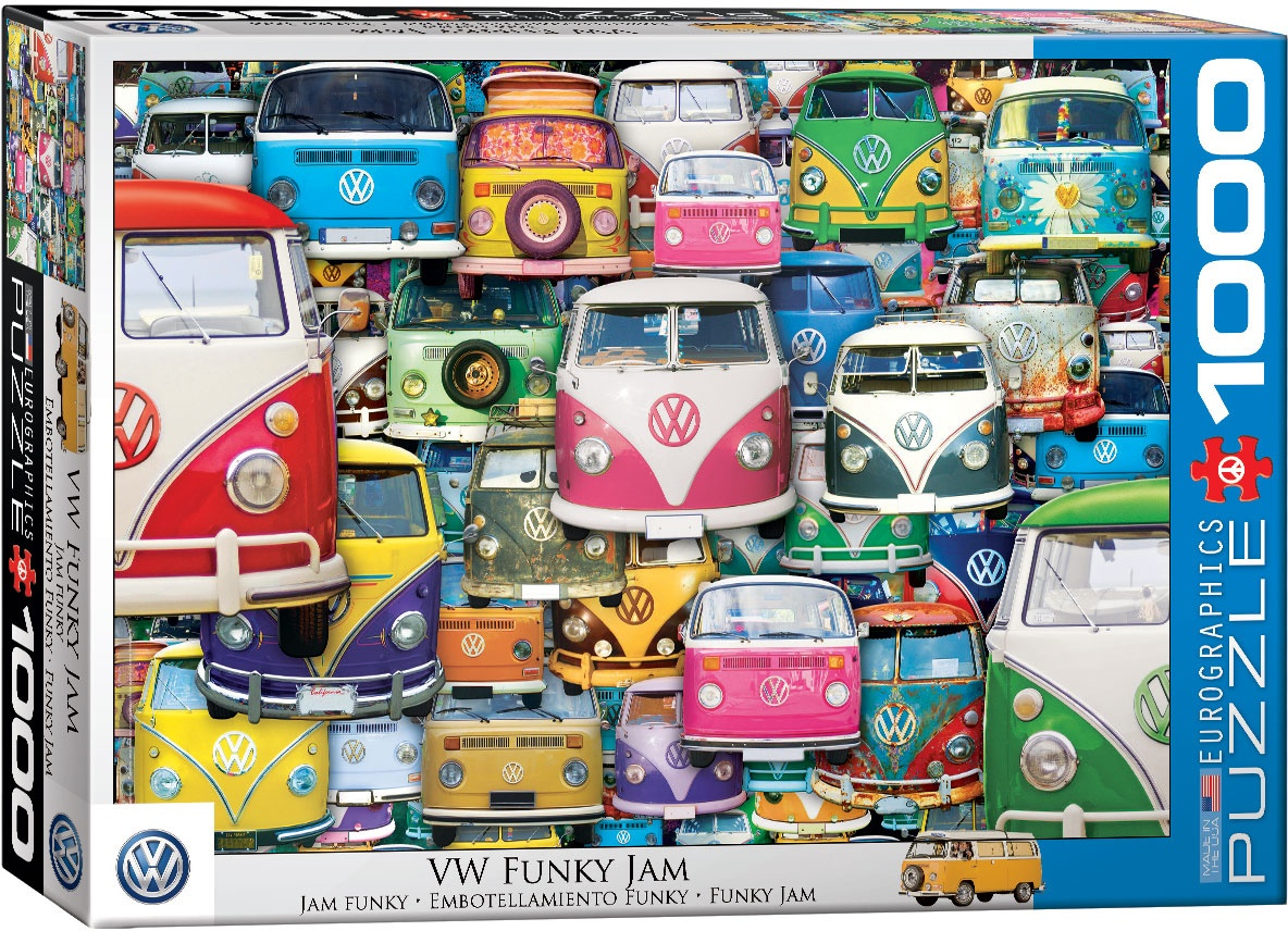 Puzzle VW Funky Jam 1000 Teile