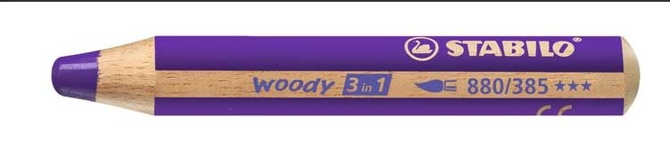 Stabilo Woody Farbstift violett