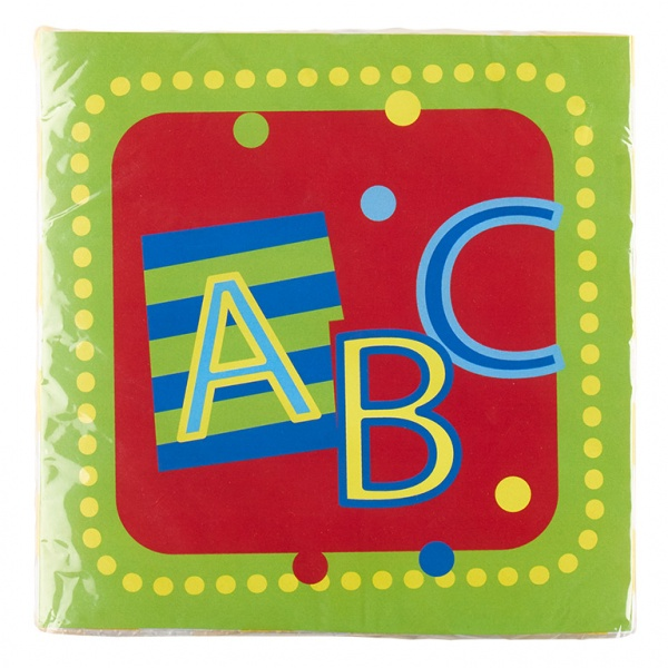 ABC Schulanfang Servietten