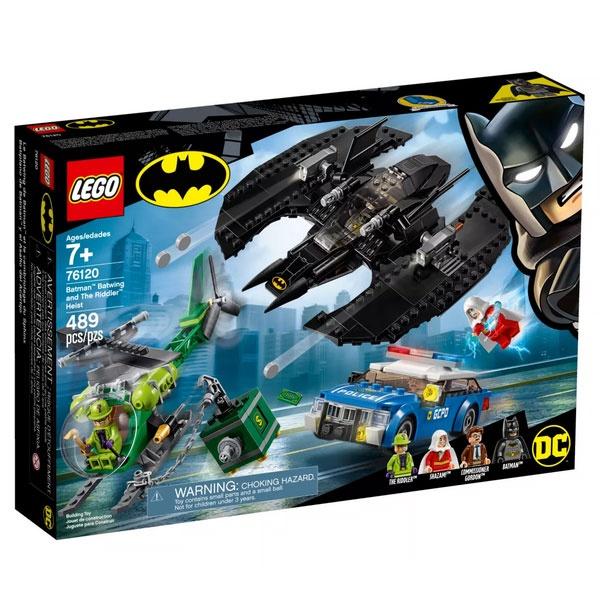 Lego Super Heroes 76120 Batman Barwing und der Riddler Überf