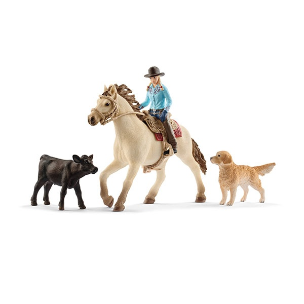 Schleich Farm World Westernreiten 42419