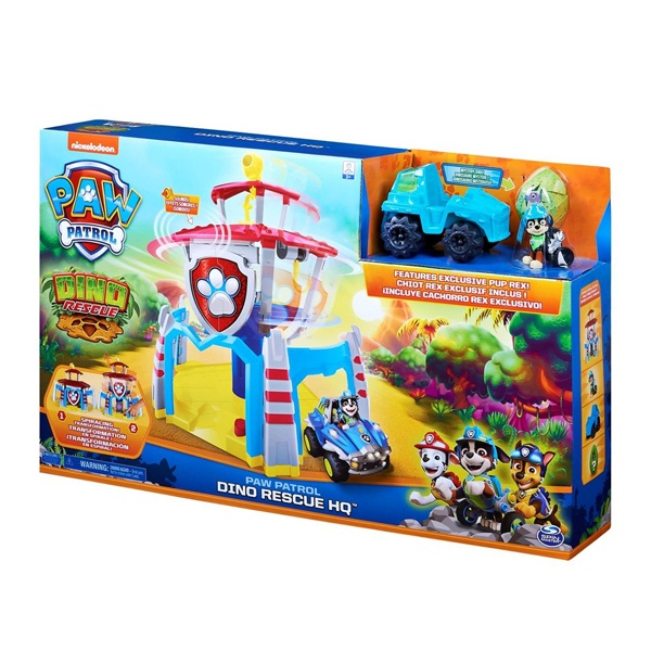 Paw Patrol Dino Rescue Headquarter