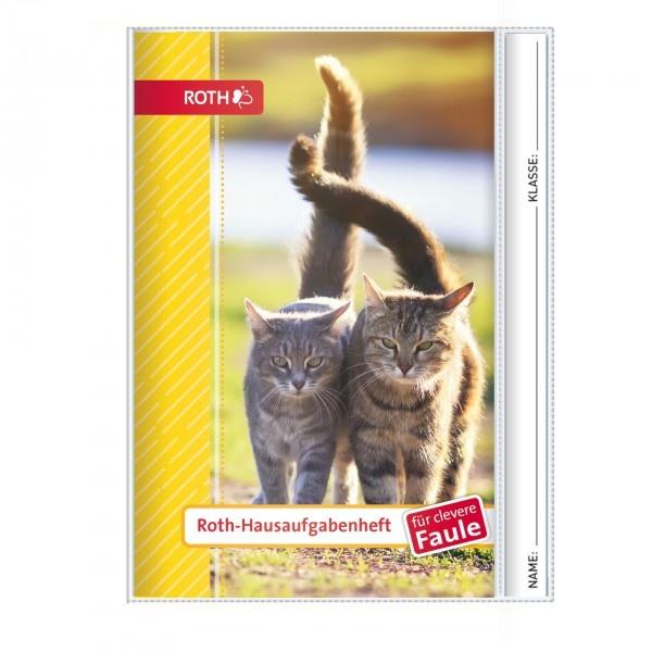 Roth Hausaufgabenheft für clevere Faule A5 Katzen