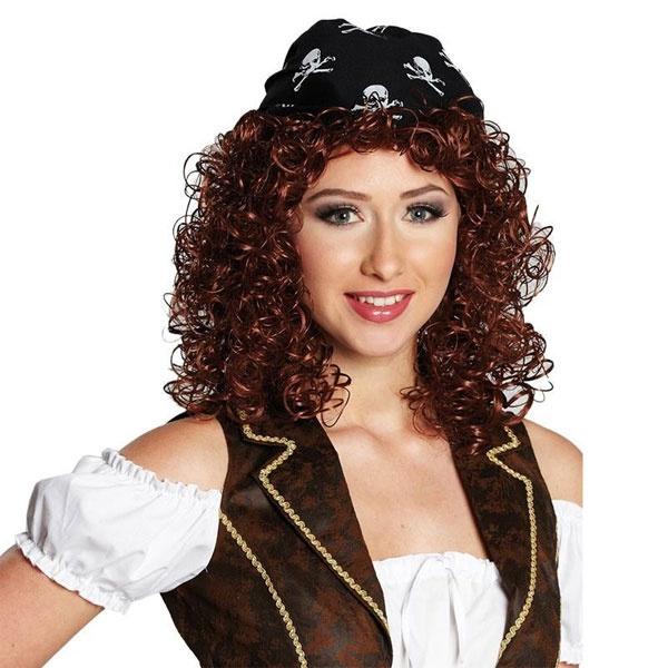 Kostüm-Zubehör Perücke Piratin