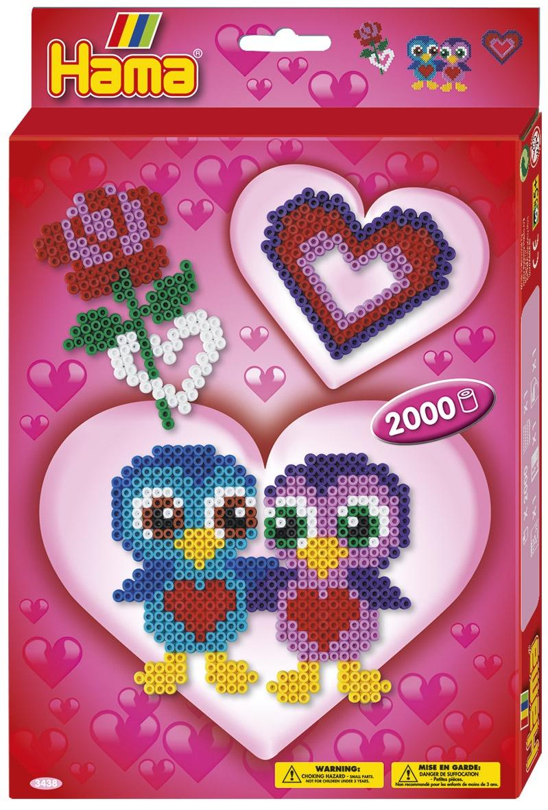 Hama Geschenkpackung Love 2000 Perlen