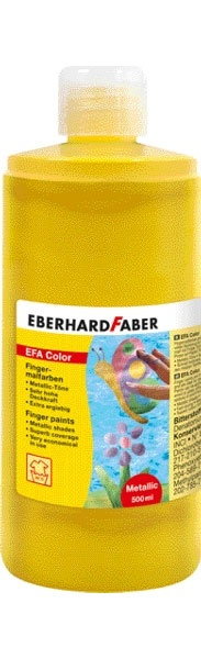 Fingerfarbe pearl gold 500 ml