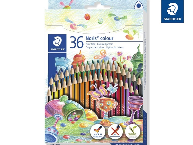 Staedtler Buntstifte Noris colour 36 Packung