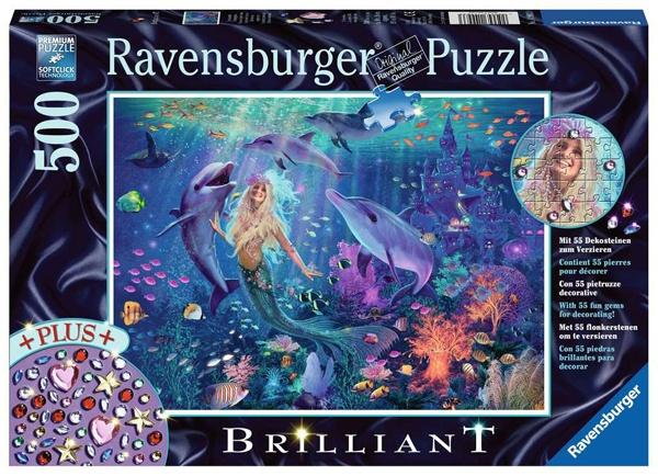 Ravensburger Puzzle Bezaubernde Meerjungrau 500 Teile