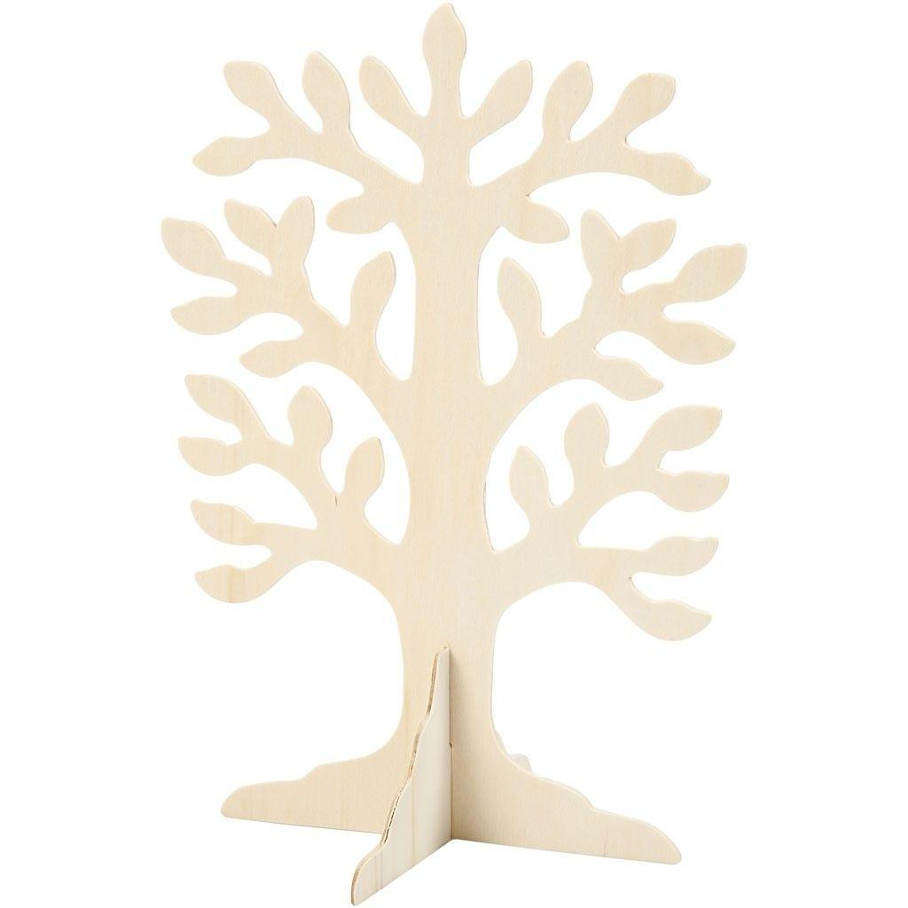Baum 30 x 21,5 cm Sperrholz