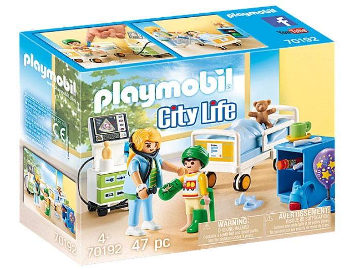 Playmobil 70192 City Life Kinderkrankenzimmer