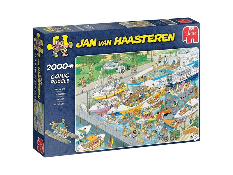 Puzzle Jan van Haasteren Die Schleuse 2000 Teile