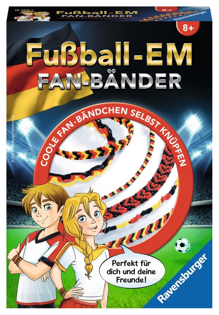 Ravensburger Freundschaftsbänder Fußball-EM Knüpfset