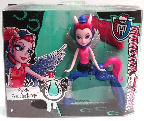 Monster High Puppe Pyxis Prepstockings