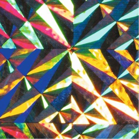 Folia Holographische Folie Magic silber selbstklebend