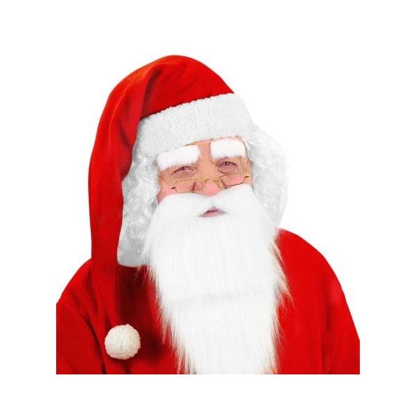Kostüm-Zubehör Weihnachtsmannmütze 66 cm lang