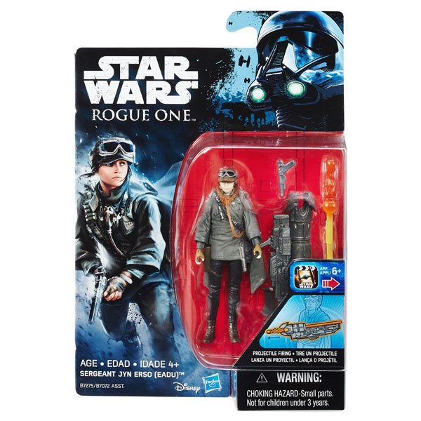 Star Wars Rogue One Battle-Action Figur Sergeant Jyn Erso