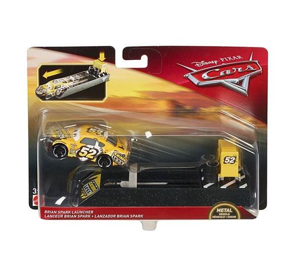 Cars 3 Launcher Brian Spark