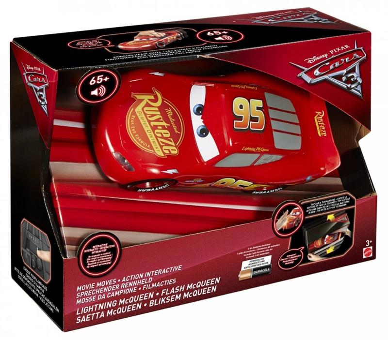 Disney Mattel Cars 3 Sprechender Rennheld Lightning McQueen