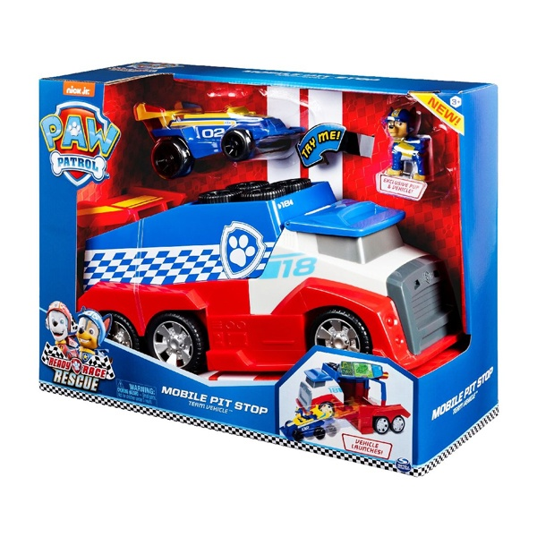 Paw Patrol Ready Race Rescue Mobile Pit Stop