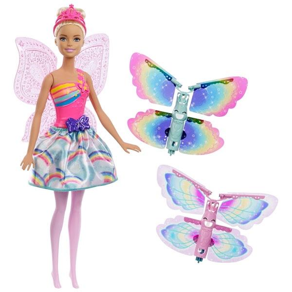 Barbie Dreamtopia Regenbogen-Königreich Magische Flügel-Fee