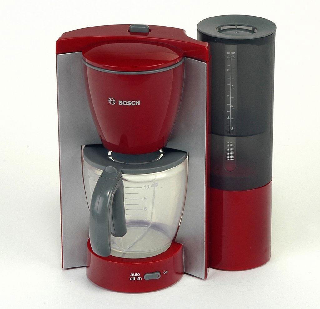 Bosch Kaffeemaschine rot/grau für Kinder