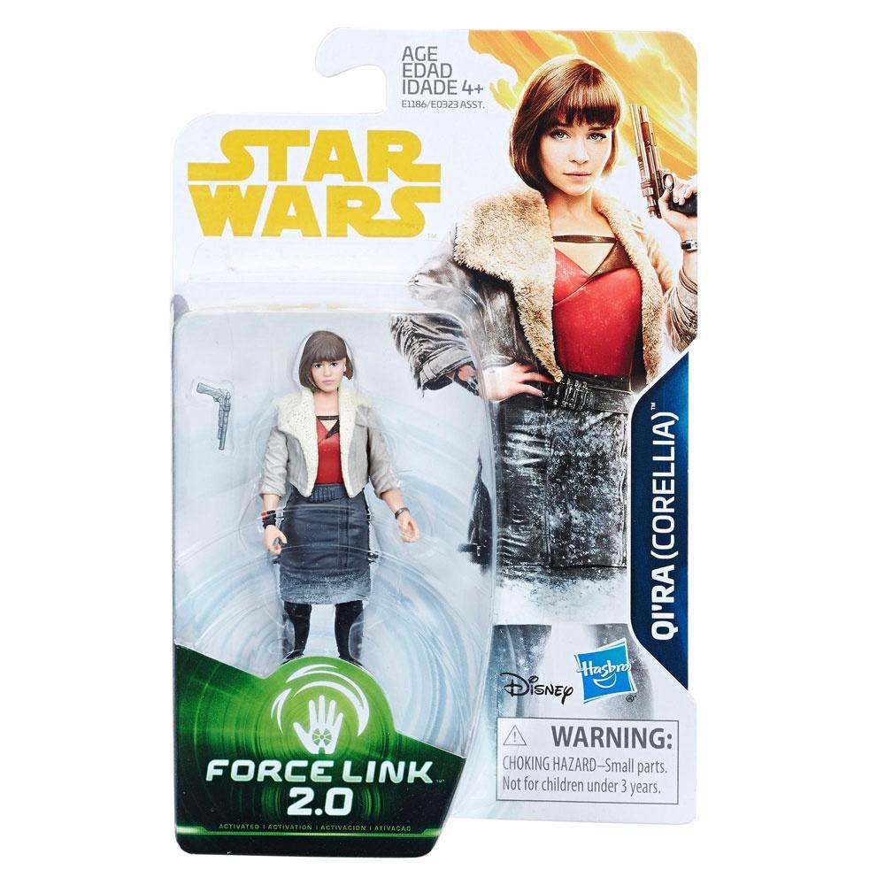 Star Wars Han Solo Force Link 2.0 Figur Qi´ra Corellia