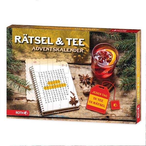 Roth Adventskalender Rätsel und Tee