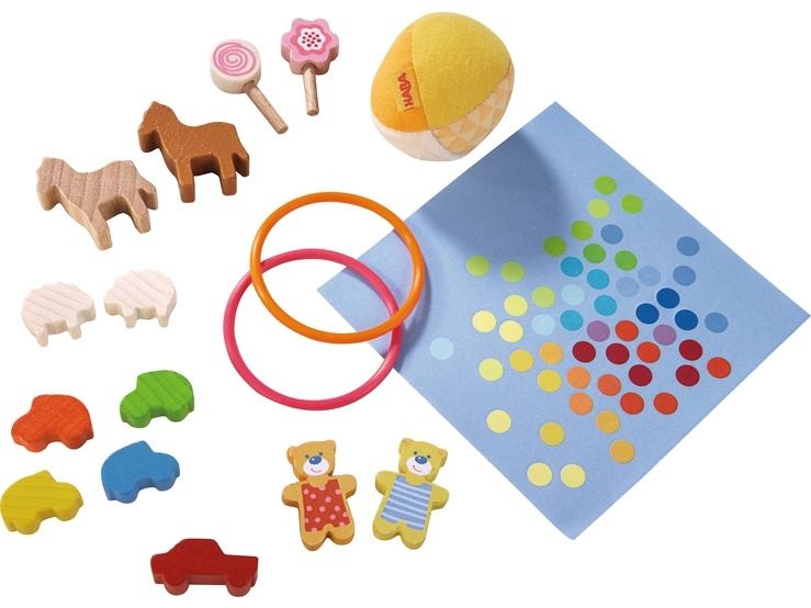 Haba Little Friends Puppenhaus-Zubehör  Lieblingsspielsachen