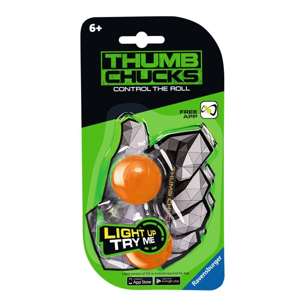 Ravensburger Thumb Chucks orange