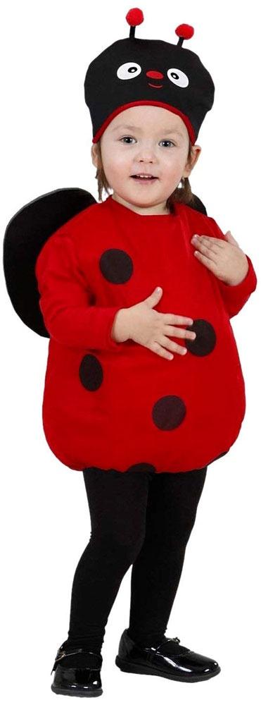 Kostüm Ladybug Coccinella Marienkäfer Gr. 90-104