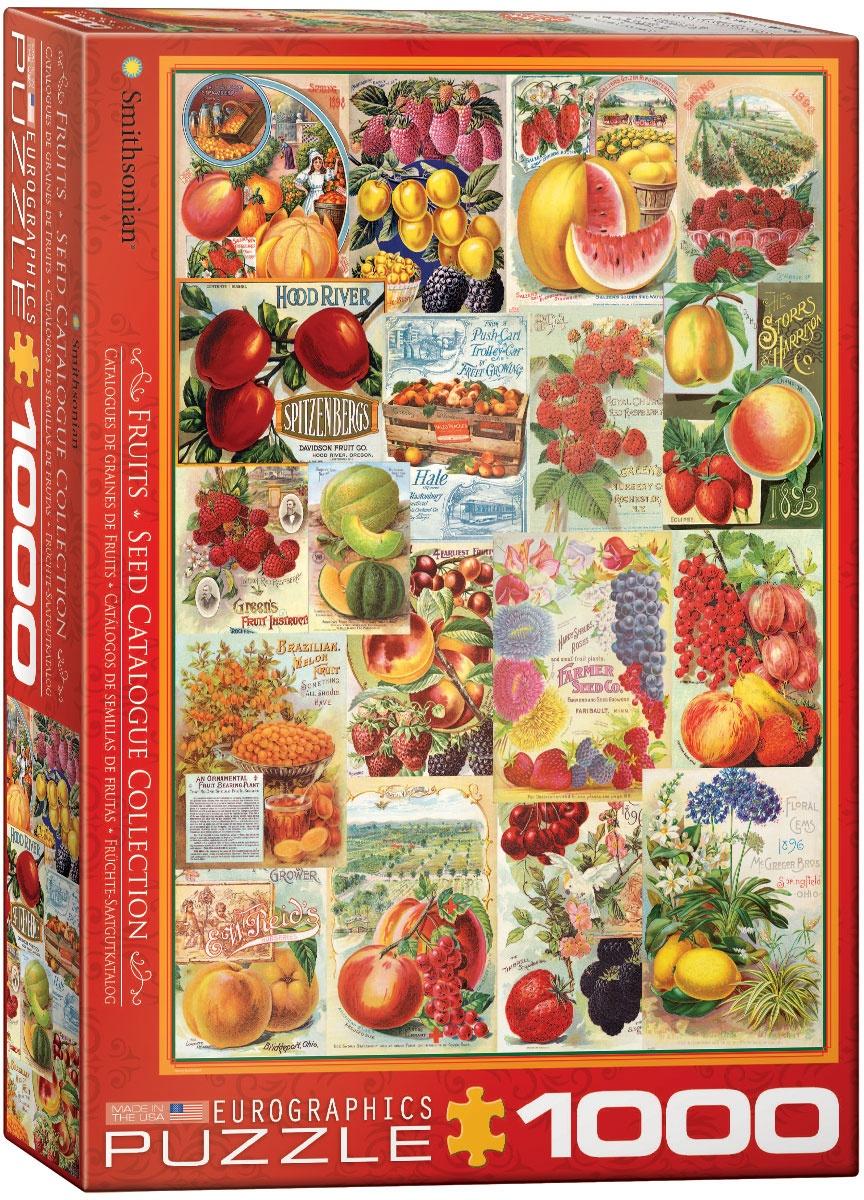 Puzzle Früchte-Saatgutkatalog 1000 Teile