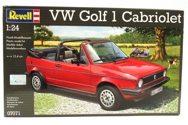 Revell 07071 VW Golf 1 Cabriolet 1:24