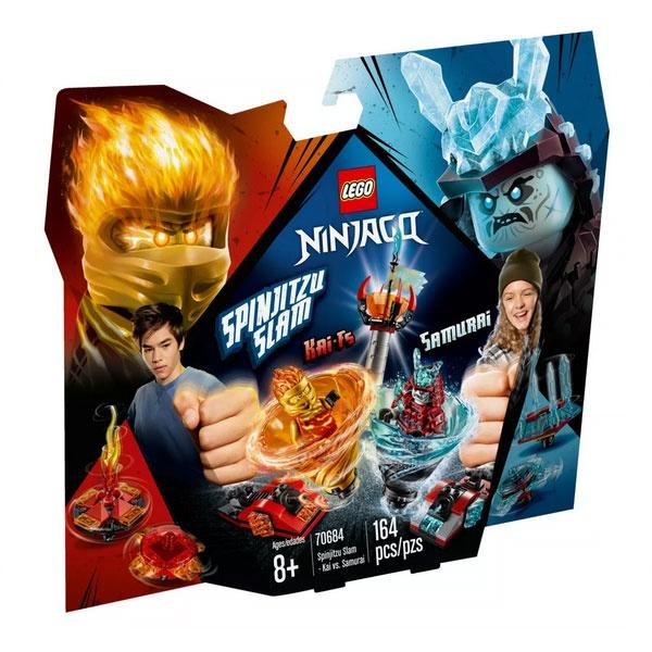 Lego Ninjago 70684 Spinjitzu Slam - Kai vs. Eis-Samurai