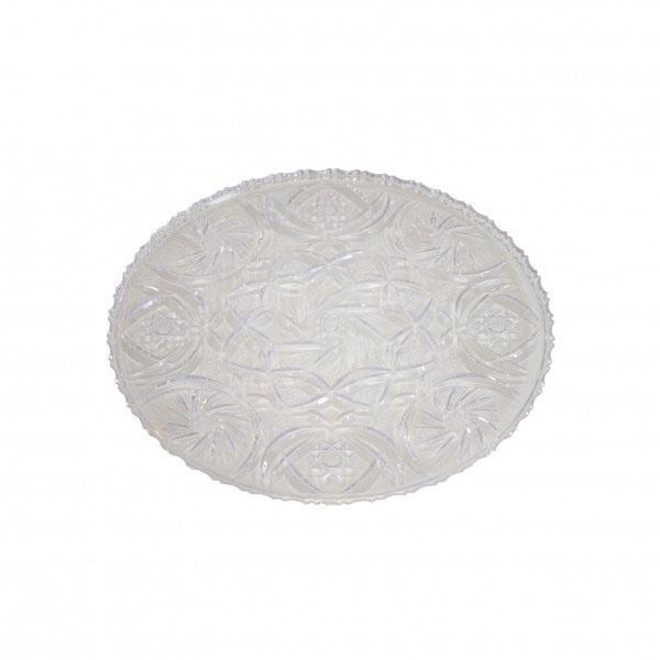 Top Hit Kuchenplatte Eva rund 24 cm Plastkristall