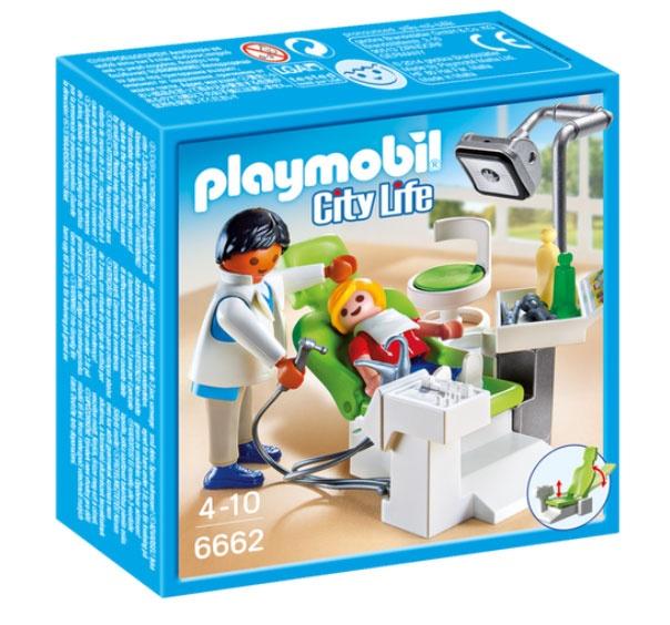 Playmobil 6662 City Life Zahnarzt